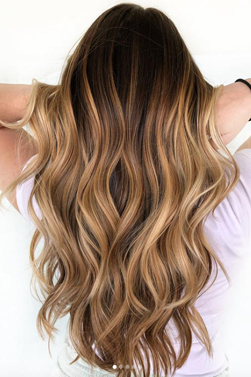 "The Beauty of Balayage Balayage allows a stylist to work as a true artiste – your hair becomes the canvas and the color brush is like a paint brush. Your stylist will ""paint"" on your highlights using the freehand technique. The results are beautiful and very natural looking."